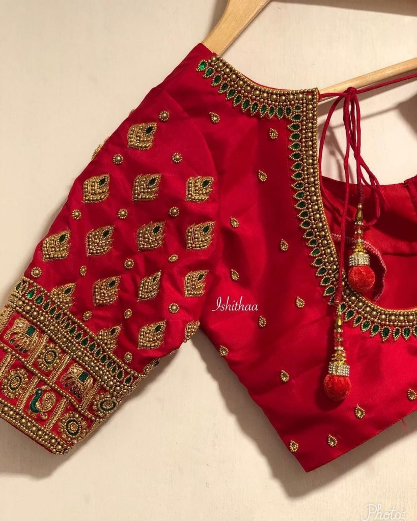 Elegant Blouse Designs For Bridal Lehenga Trends In 2020 Blog