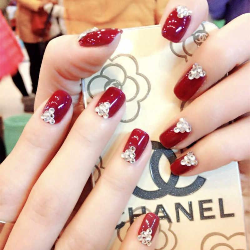 Prettiest Nail Art Designs For A Bride Girl Blog